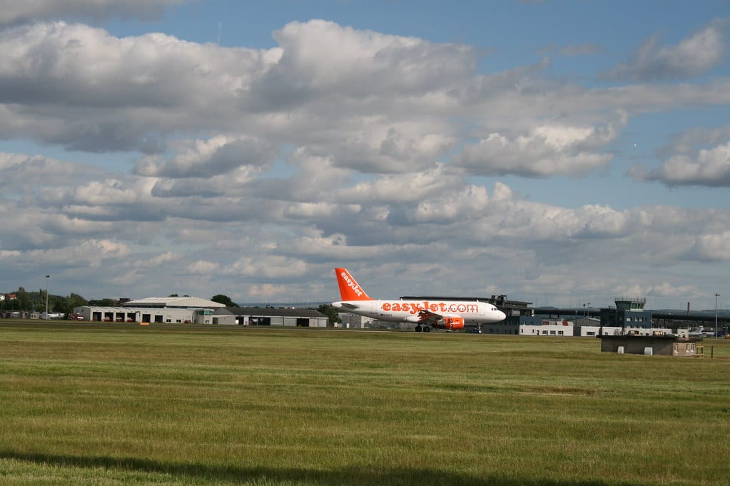 Aeropuerto de Glasgow en Escocia