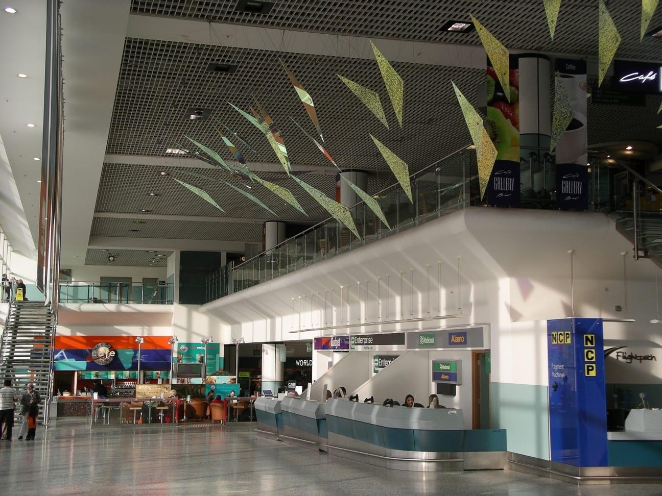 Medios de transporte del aeropuerto de Birmingham