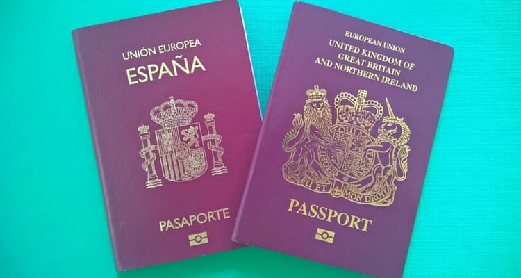 Nacionalidad inglesa o británica con pasaporte inglés