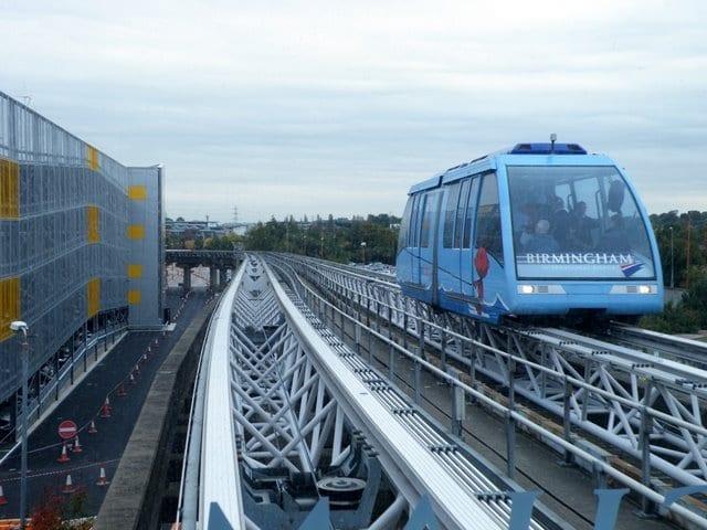 Transporte público: Ir del aeropuerto de Birmingham al centro de la ciudad