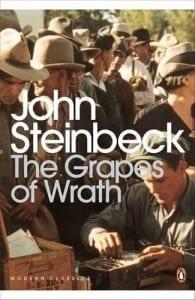 libros grapes wrath