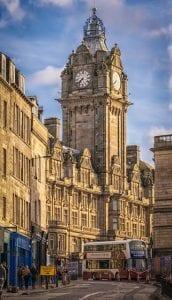 Transporte en Edimburgo, Escocia