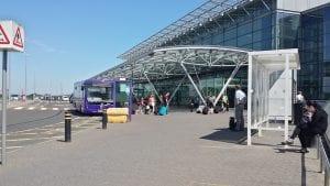 Tiempo entre el aeropuerto de Newcastle y el centro