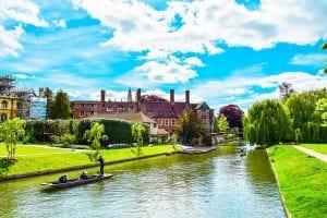 Trabajar y hacer turismo en Cambridge