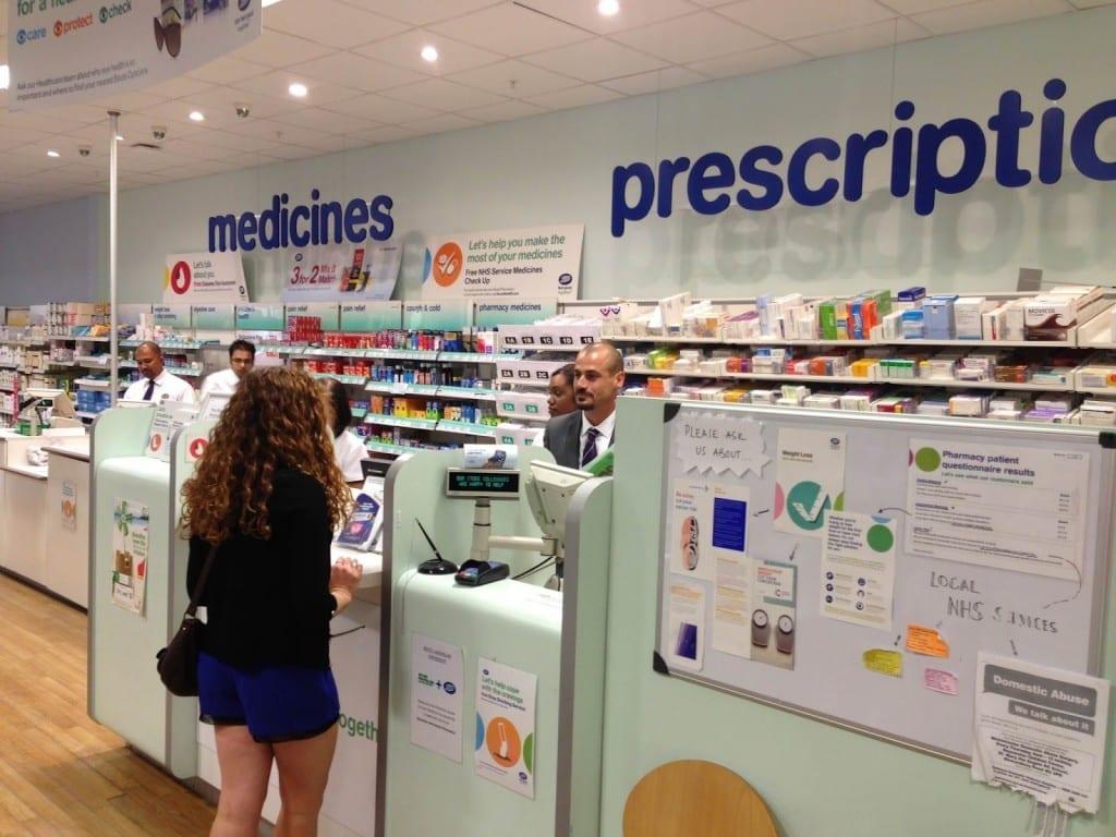 trabajar con farmaceutico inglaterra