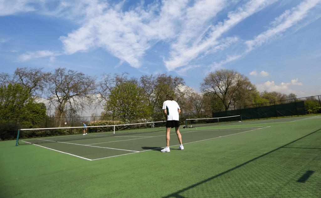 Tenis en Hyde Park