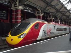 Tiempo para ir de Londres a Liverpool en tren