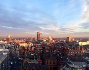 Viaje entre Londres y Manchester