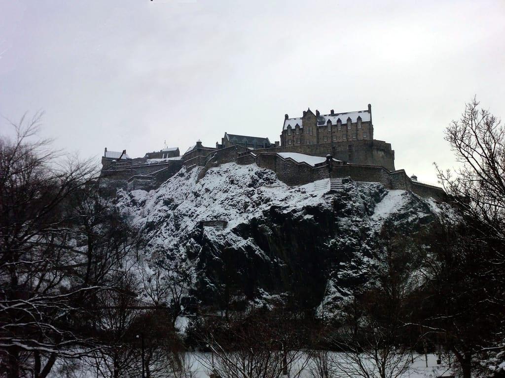 Tiempo en Edimburgo en invierno