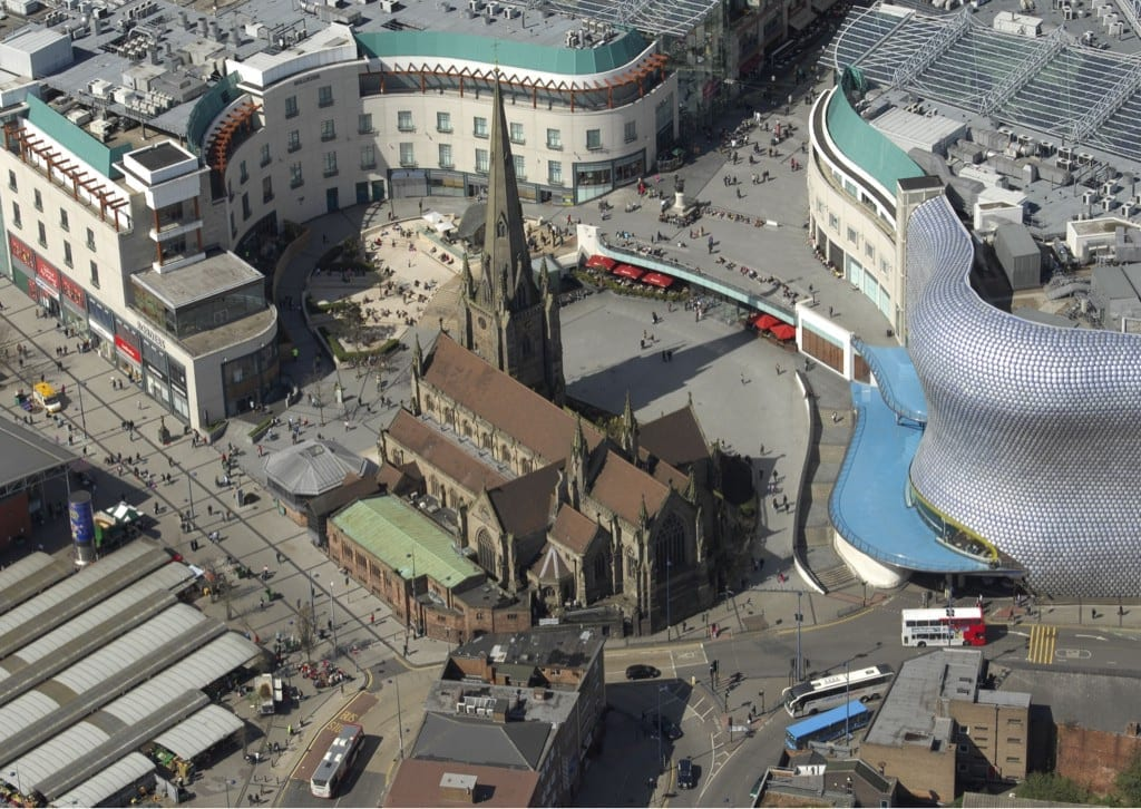Lugares de interés en Birmingham