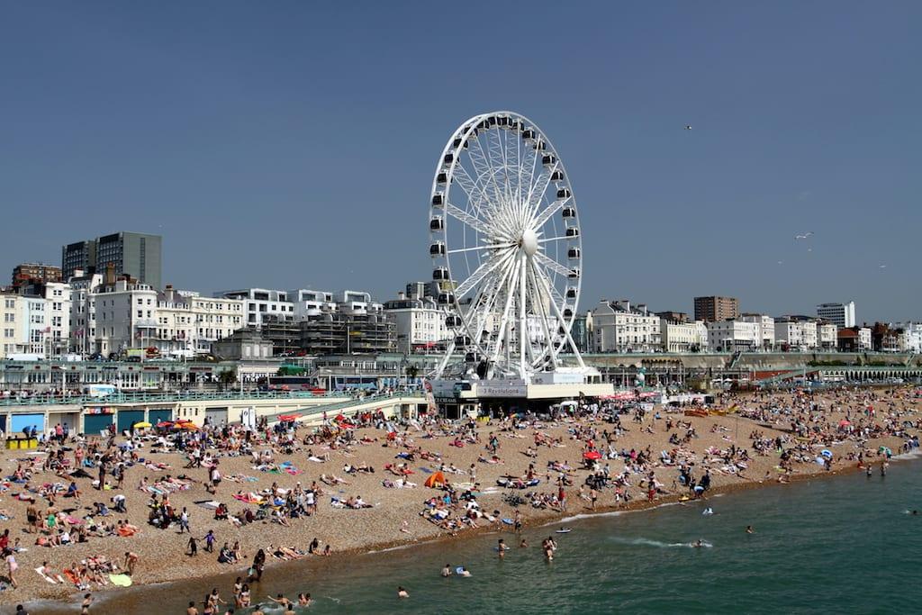 Tiempo en Brighton en enero