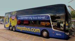 Ir en autobús de Londres a Birmingham con Megabus