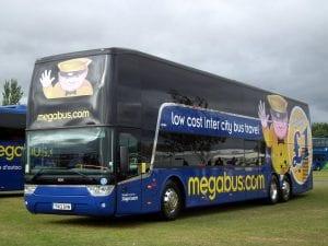 Ir de Londres a Bristol en bus con Megabus