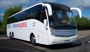 Distancia para ir de Londres a Manchester en autobús