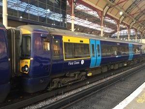 Estación de tren para ir de Londres a Canterbury