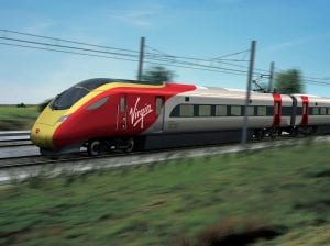 Ir con tren Virgin de Londres a Manchester