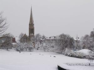 Tiempo en Glasgow en invierno