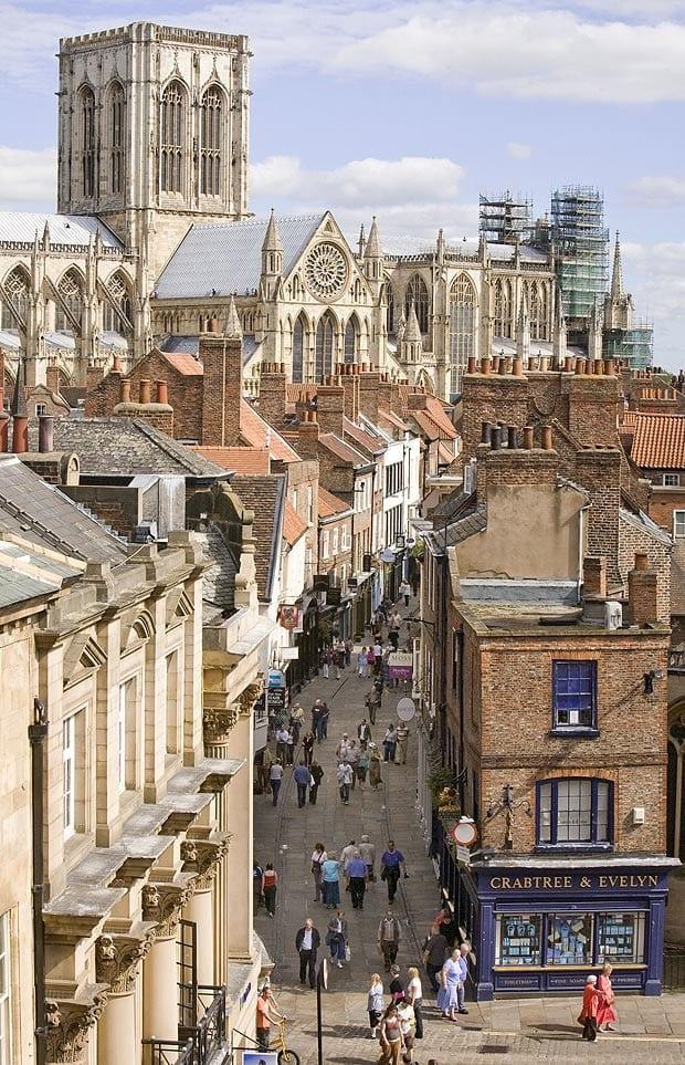 Visitar la catedral de la ciudad de York