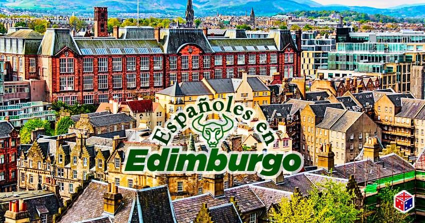 mundo de habitantes españoles en edimburgo escocia