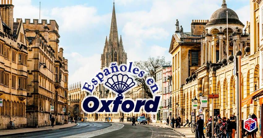 mundo de españoles en la ciudad oxford