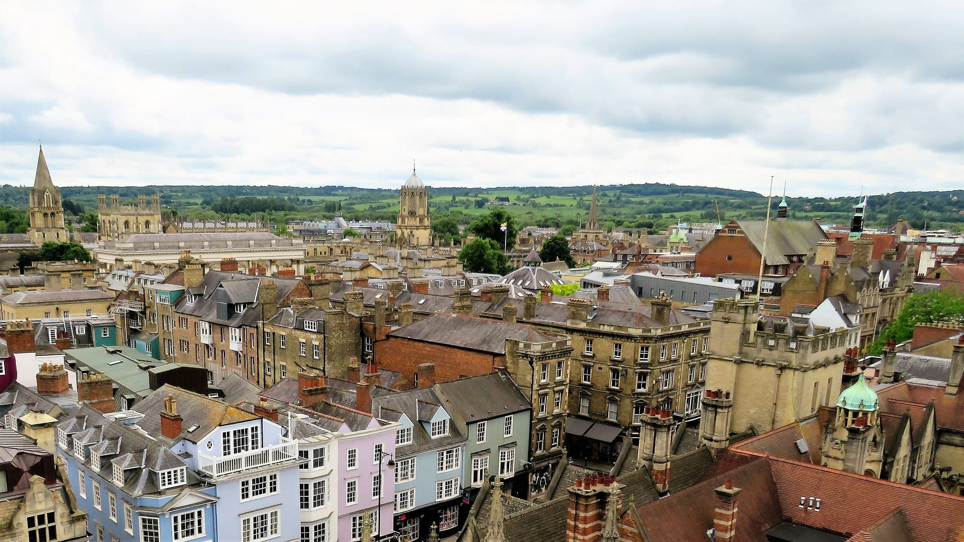 Tiempo en Oxford en verano según meteorología