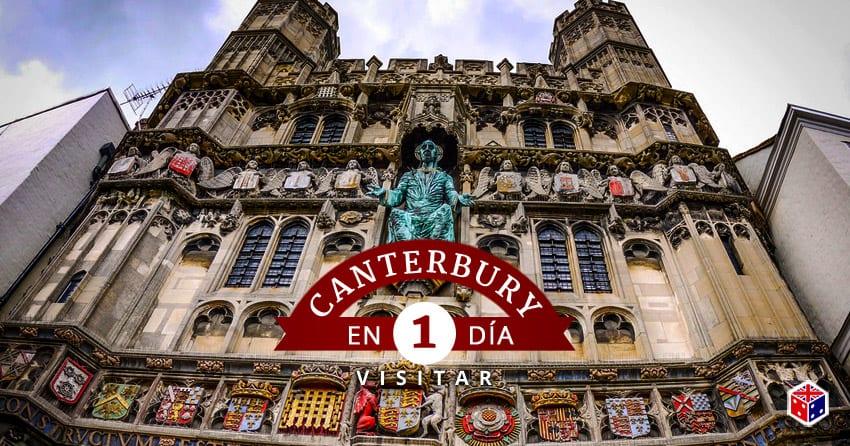 ver y visitar canterbury en unido reino