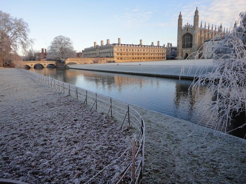 Temperatura y tiempo en Cambridge