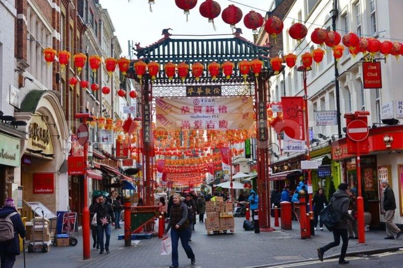 Chinatown londres dos dias