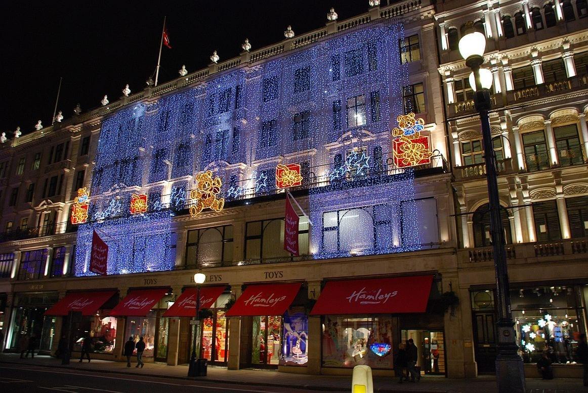 Covent Garden por Navidad en Londres
