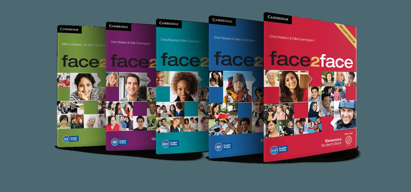 coleccion de libros de face2face