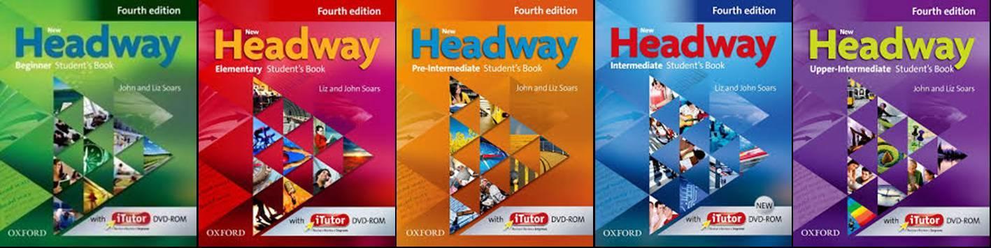 portadas de las ediciones de los libros headway