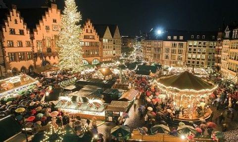 Encendido de luces en Londres en Navidad