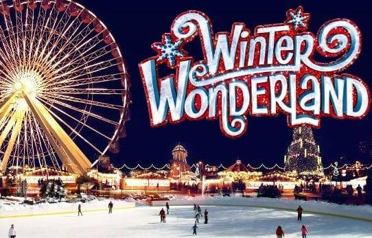 Navidad en Londres en Hyde Park