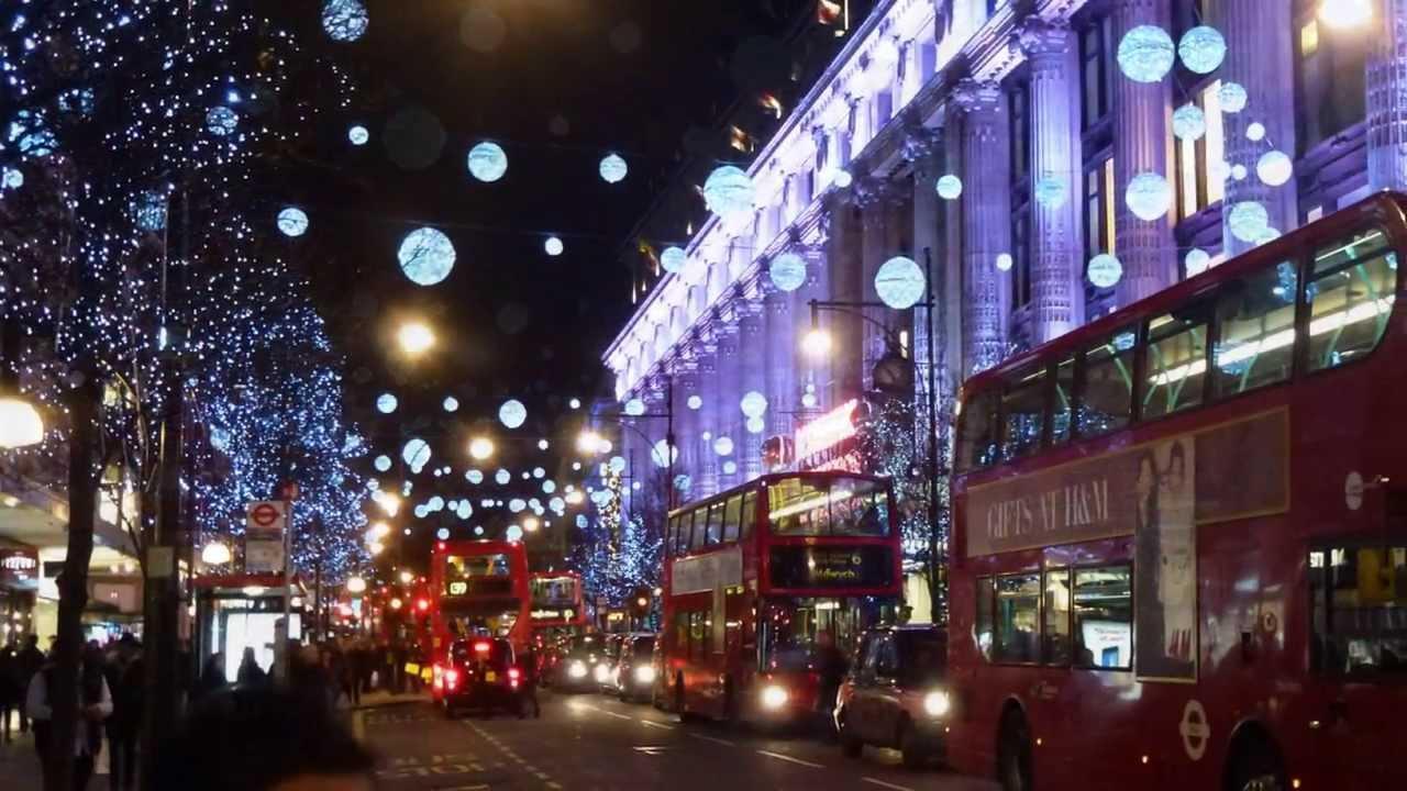 Ver la decoración de los mercadillos en Londres en Navidad