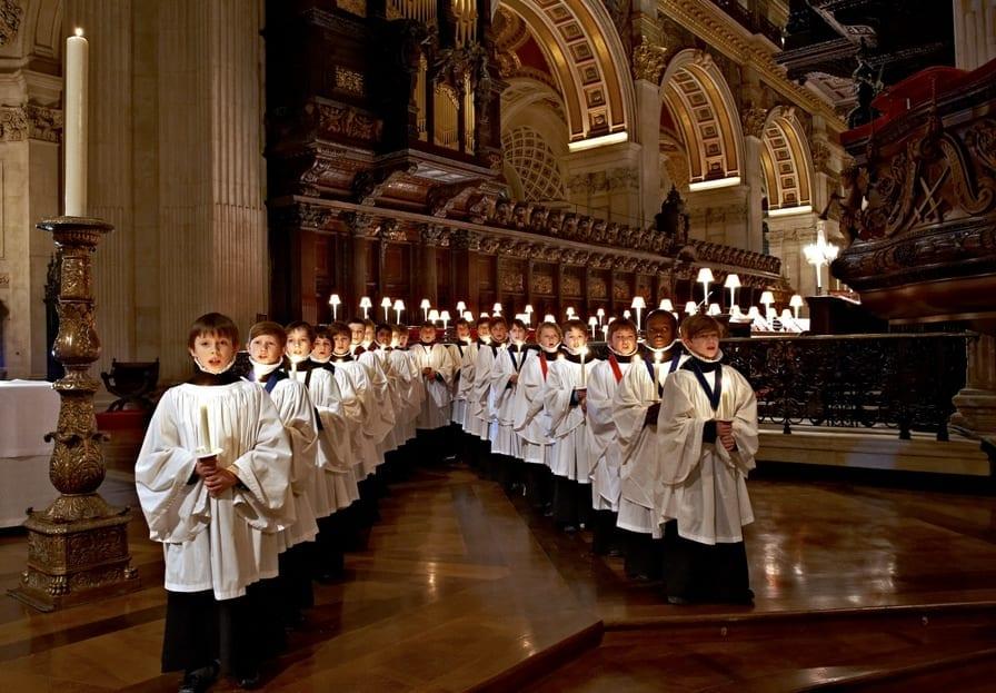 misa de navidad en Londres