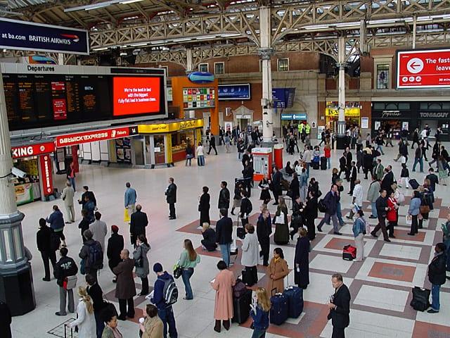 Dejar las maletas en Paddington de Londres