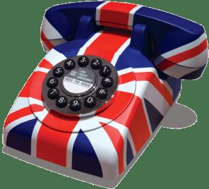prefijo, código o indicativo telefónico llamar a Inglaterra y reino unido uk o a españa desde Londres