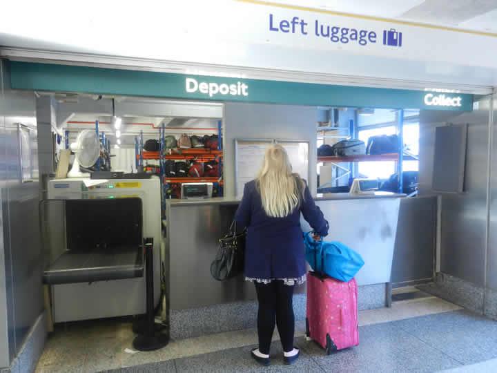 London Waterloo Station Luggage Storage