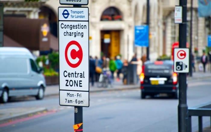 Señal salida de la Zona de Congestión
