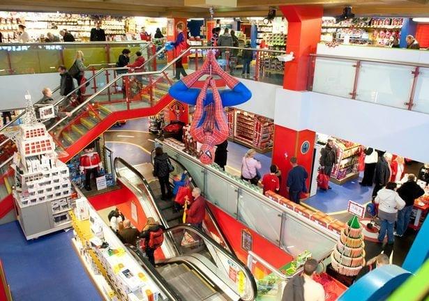 Horario de la tienda de juguetes Hamleys