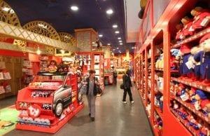 Playmobil y lego en la tienda Hamleys