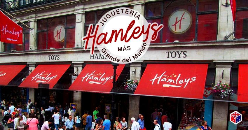 la tienda y jugueteria hamleys en londres