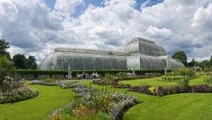 Royal Botanic Gardens en Kew. Jardines en el barrio de Richmond