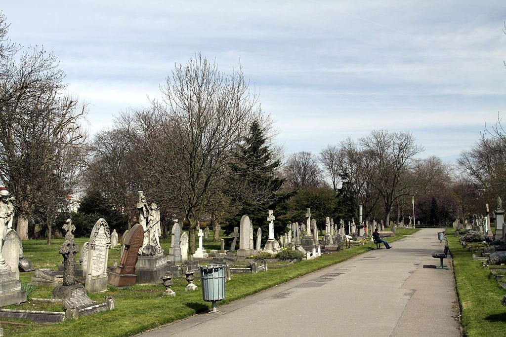 Margravine Cemetery West Kensington Londres