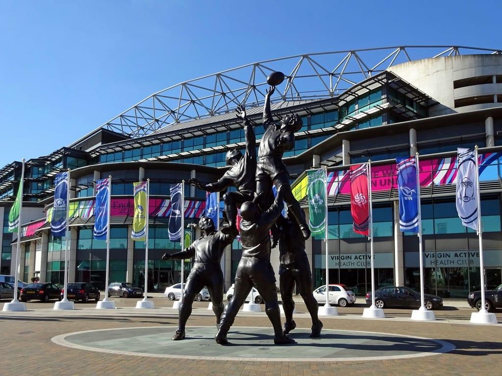 Mundial en Twickenham, Reino Unido