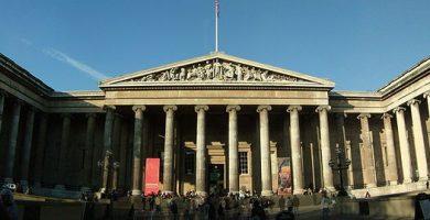Gran entrada al British Museum