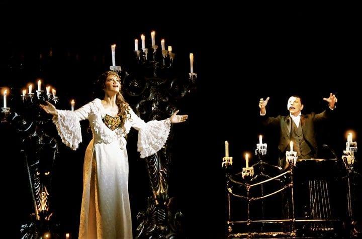 El fantasma de la Opera en Her majesty Theatre