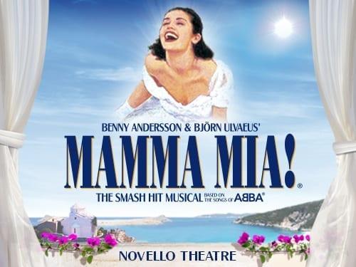 Ticket para canciones Mamma Mia!