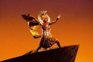 Rafiki y Simba en el Rey León