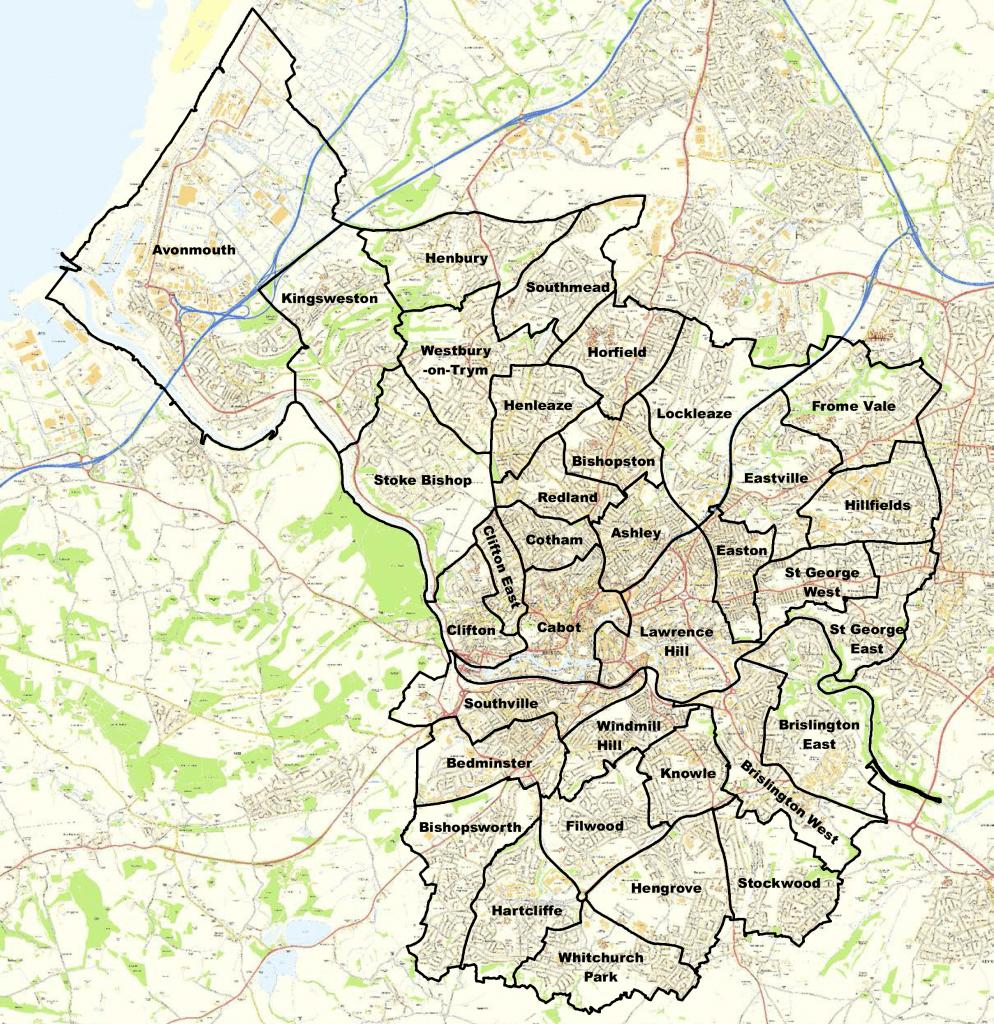 Vivir y buscar trabajo en Bristol, Inglaterra: barrios Bristol alojamiento